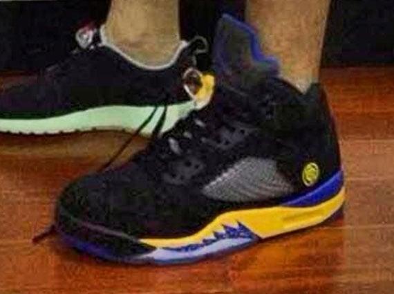 Air Jordan V Lakers First Look