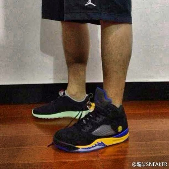 Air Jordan V Lakers First Look