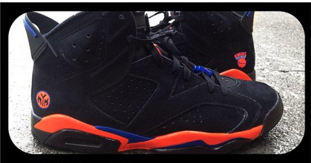 Air Jordan VI (6)  New York Knicks  Custom  493a2348c2