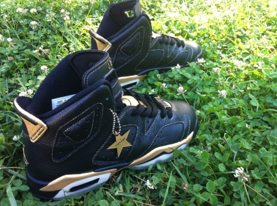 Air Jordan VI Caviar Blaque by District Customs