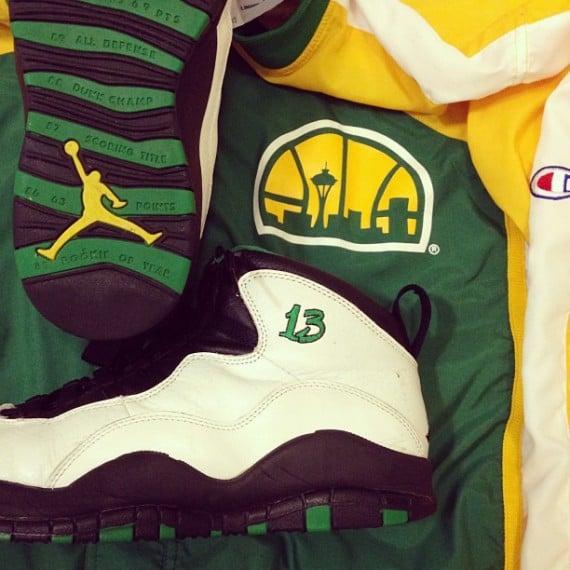 Air Jordan X Kendall Gill PE