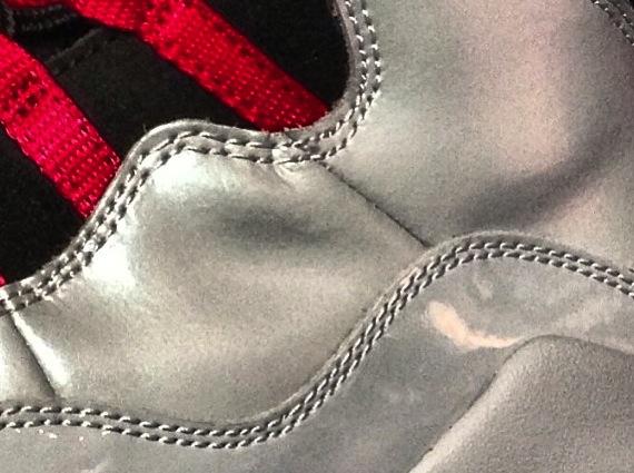 Air Jordan X Silver Patent Teaser