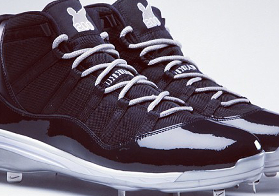 Air Jordan XI C.C. Sabathia 200th Career Win PE Cleats