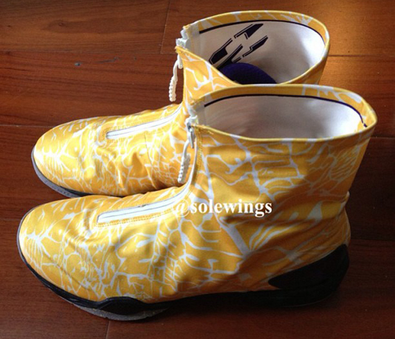 Air Jordan XX8 Yellow Purple First Look