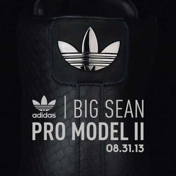Big Sean x adidas Pro Model Detroit Player Black Release Date