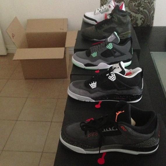 Bun B Shows Off Fall 2013 Air Jordans