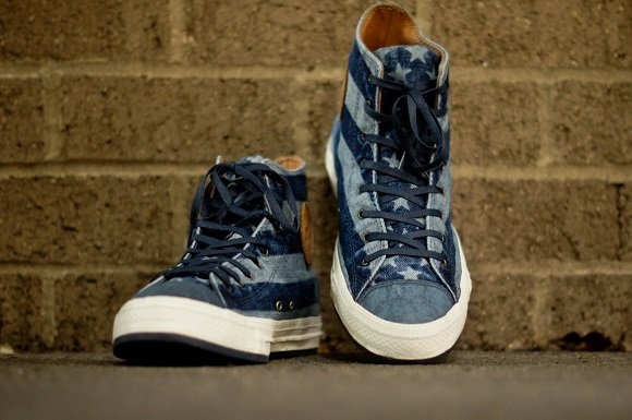 Converse First String Chuck Taylor All Star Denim Stars And Stripes Available Now