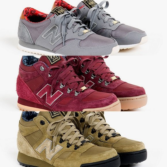 Herschel Supply Co x New Balance Fall 2013 Collection First Look