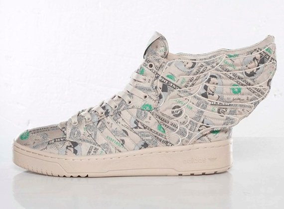 Jeremy Scott x adidas JS Wings 2.0 Money Detailed Look