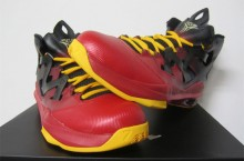 Jordan Melo M9 'Black/Metallic Gold-Gym Red-University Gold'