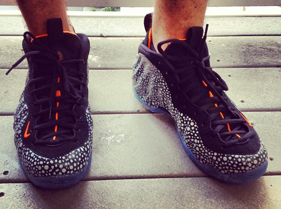 Nike Air Foamposite One Safari On-Feet Images