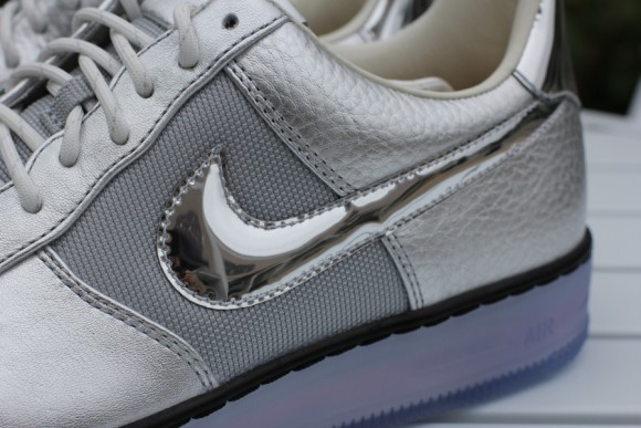Nike Air Force 1 Downtown Chrome Swoosh