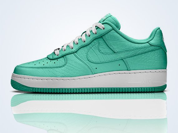 Nike Air Force 1 iD Crocodile Leather Options July 2013