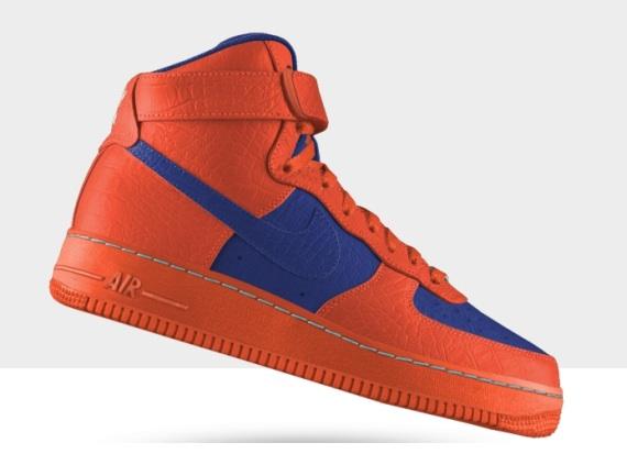 Nike Air Force 1 iD Crocodile Leather Options July 2013
