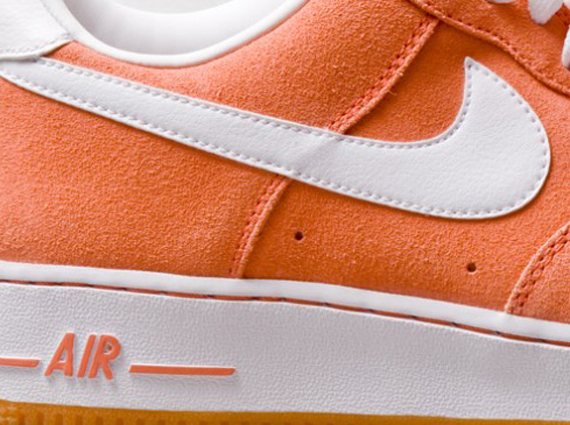 Nike Air Force 1 Low Salmon Suede First Look