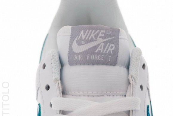 Nike Air Force 1 Low White Tropical Teal Release Reminder