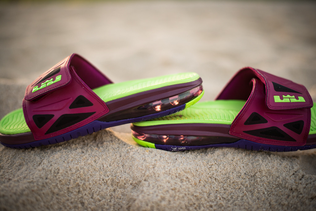 size 40 68c3e 5c273 Nike Air LeBron 2 Slide Elite 'Raspberry' | SneakerFiles