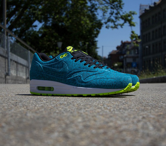 Nike Air Max 1 FB Blue Leopard Now Available @ Titolo