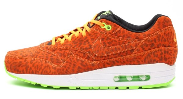 nike air max 1 orange leopard