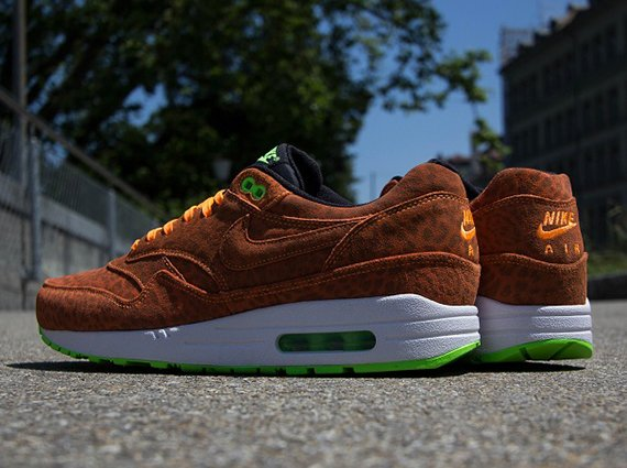 Nike Air Max 1 FB Orange Leopard Now Available @ Titolo