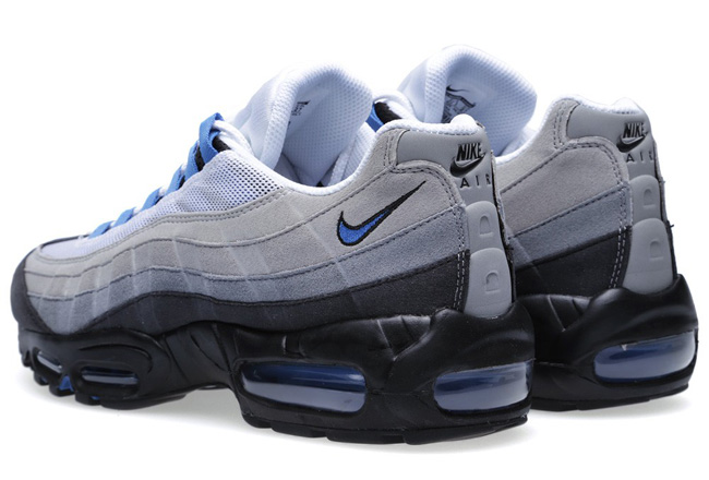 Air Max 95 White Blue Grey