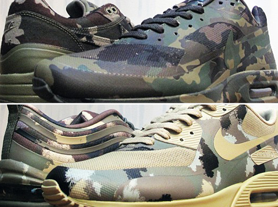 Nike Air Max Camo Collection France + Italy Releasing at 21 Mercer
