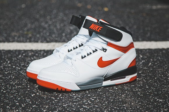 Nike Air Revolution Retro White University Red Detailed Look