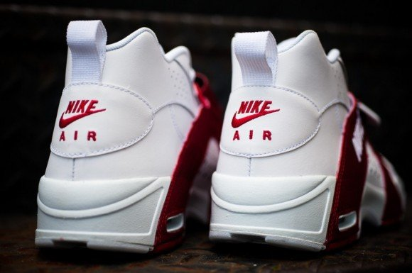Nike Air Veer White University Red