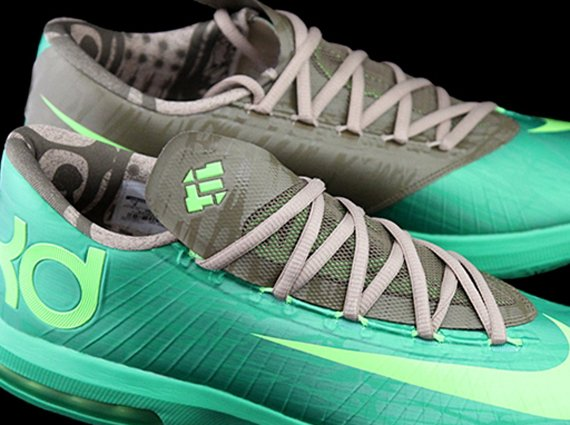 "aeace37ccae Nike KD VI ""Bamboo"" - Another Look"