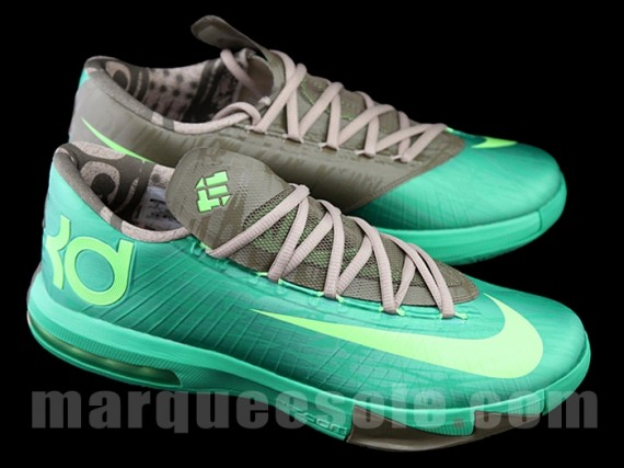 Nike KD 6 Bamboo Another Look