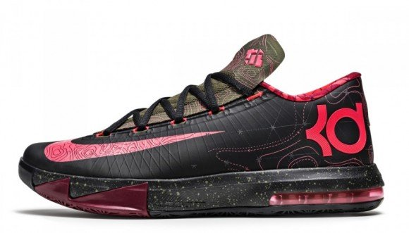 Nike KD VI Meteorology Official Look