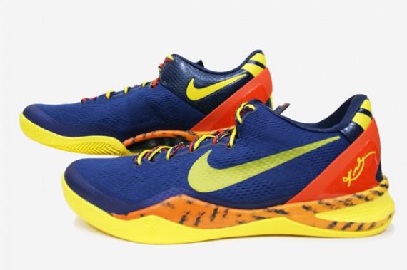 Nike Kobe 8 Deep Royal Blue Tour Yellow Midnight Navy