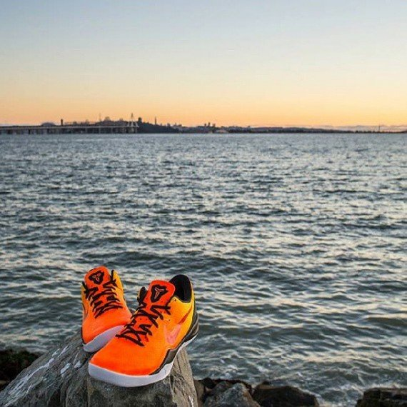 Nike Kobe 8 Sunset by JP Custom Kicks