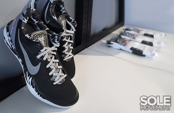 Nike Kobe 8 System PP Black Black Camo First Look