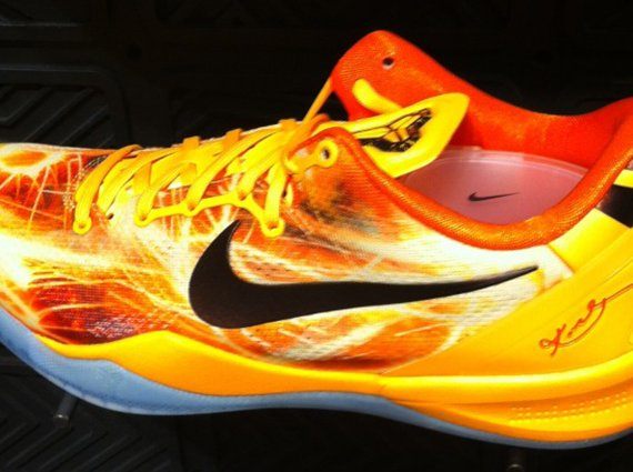 Nike Kobe 8 Yellow Red First Look