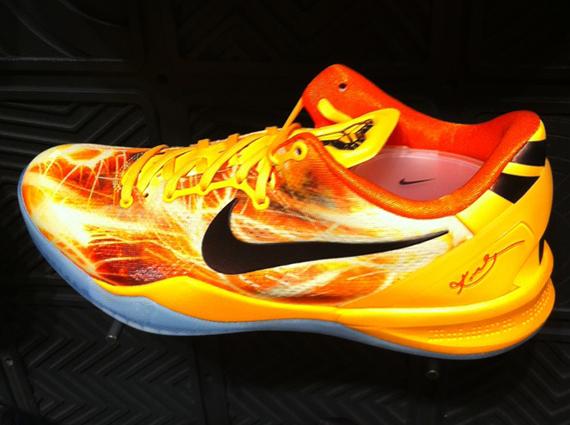 Nike Kobe 8 Yellow Red First Look