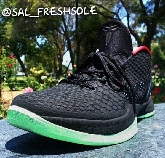Nike Kobe VI Kobeyeezy Customs by Sal Freshsole