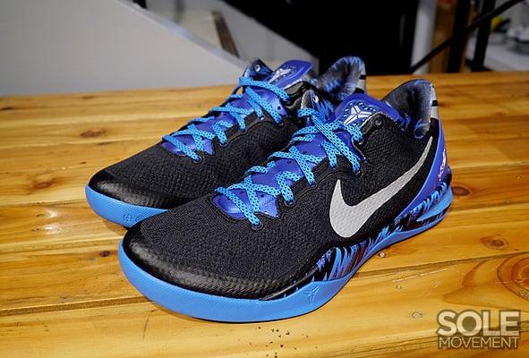 Nike Zoom Kobe 8 VIII Royal Blue White Black