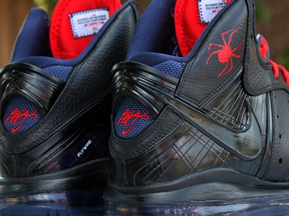 Nike LeBron 8 Black Widow by Dank Customs