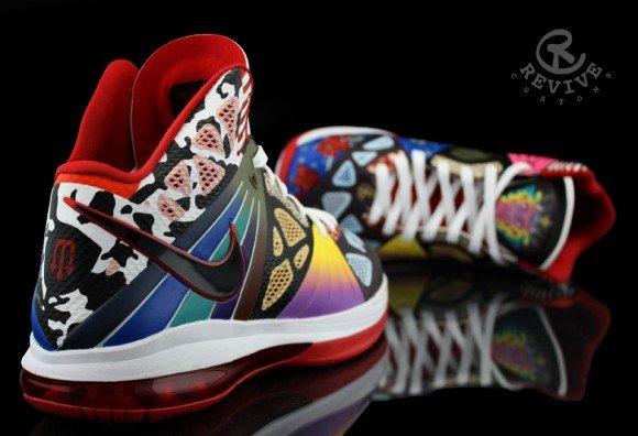 Nike LeBron 8 PS Rammellzee by Revive Customs