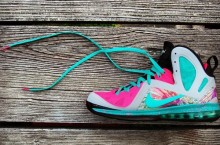 Nike LeBron 9 P.S. Elite 'Miami Beach' Custom