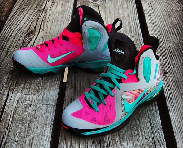 Nike LeBron 9 P.S. Elite 'Miami Beach' Custom | SneakerFiles