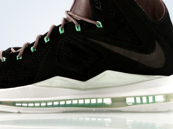Nike LeBron X Black Suede Release Date