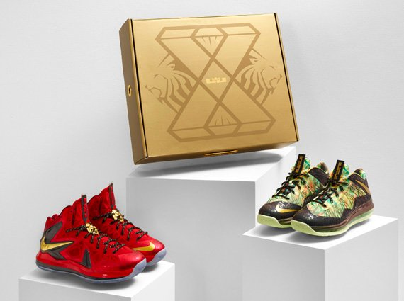 Nike LeBron X Championship Pack Asia Release Date