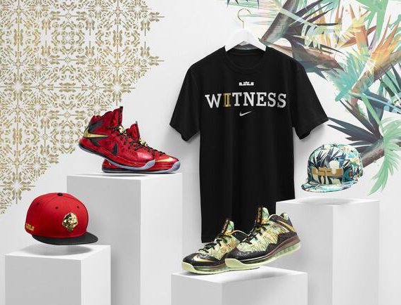 Nike LeBron X Championship Pack US Release Date