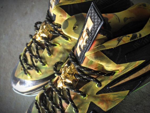 Nike LeBron X Elite 2 Time Champ Fusion by Mache Customs