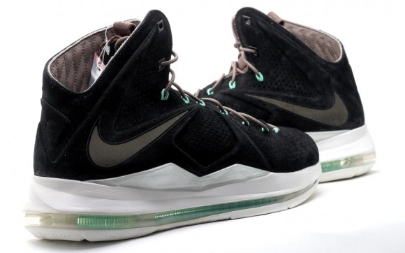 Nike LeBron X EXT Black Suede Another Look