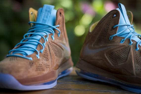 Nike LeBron X EXT Hazelnut Release Reminder