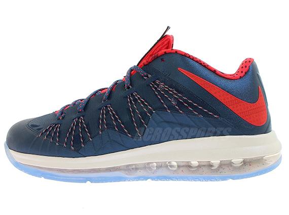 Nike LeBron X Low USA Release Reminder