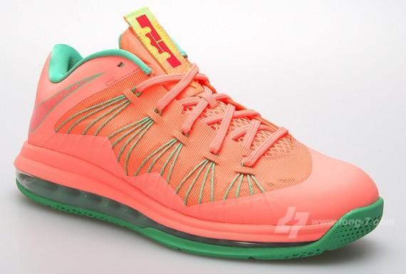 Nike LeBron X Low Watermelon Bright Mango Release Date